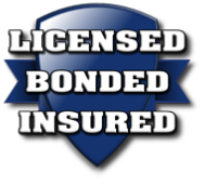 Licensed, Bonded, and Insured